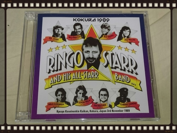 RINGO STARR AND HIS ALL-STARR BAND / KOKURA 1989_b0042308_00215046.jpg