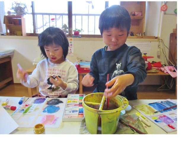 クリスマス会♪ 幼児クラス(上高野)_f0211514_19223540.jpg