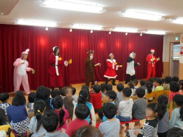 クリスマス会_e0148419_1638476.jpg