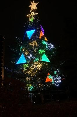お洒落なクリスマスツリー_f0055131_9543869.jpg