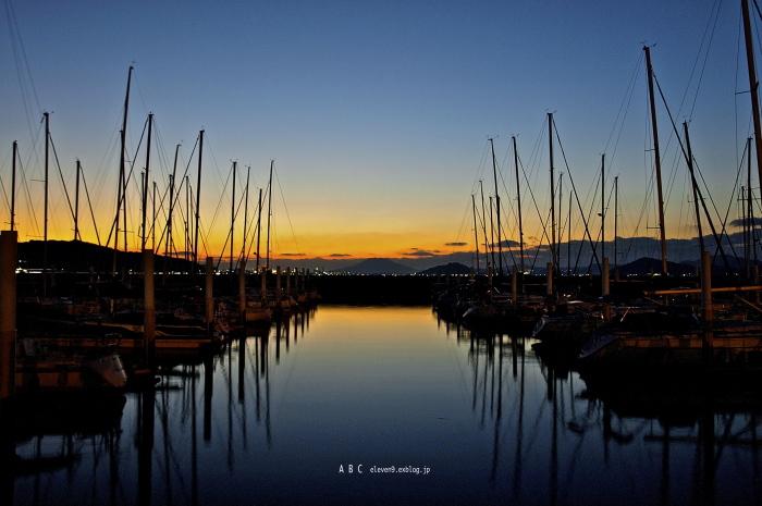 sunset harbor_f0315034_14460793.jpg
