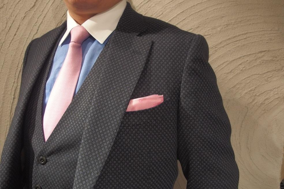 フルオーダースーツを2着ご紹介。_d0165136_16304557.jpg