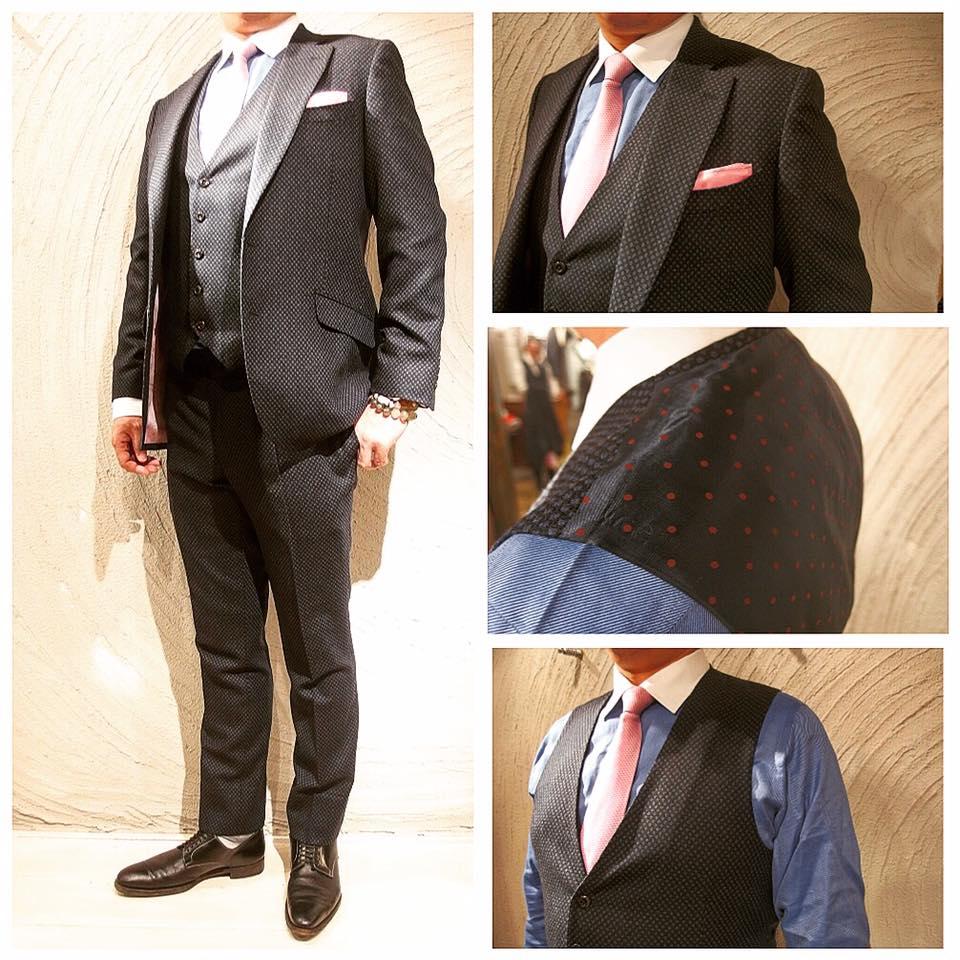 フルオーダースーツを2着ご紹介。_d0165136_1651409.jpg