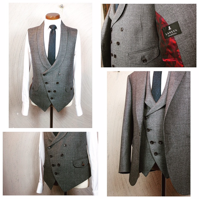 フルオーダースーツを2着ご紹介。_d0165136_16515690.jpg
