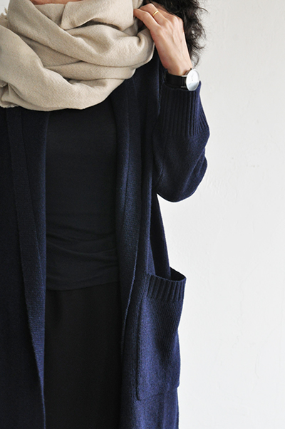TANG Shawl Collar Long Cardigan _d0120442_1525531.jpg