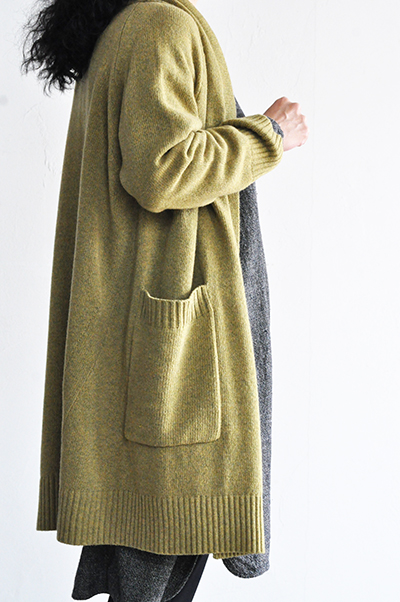 TANG Shawl Collar Long Cardigan _d0120442_1544865.jpg