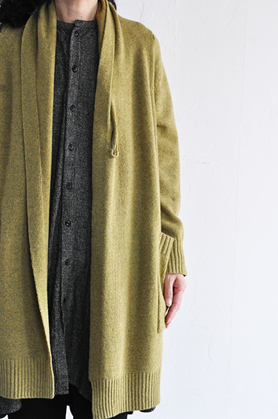 TANG Shawl Collar Long Cardigan _d0120442_1544971.jpg