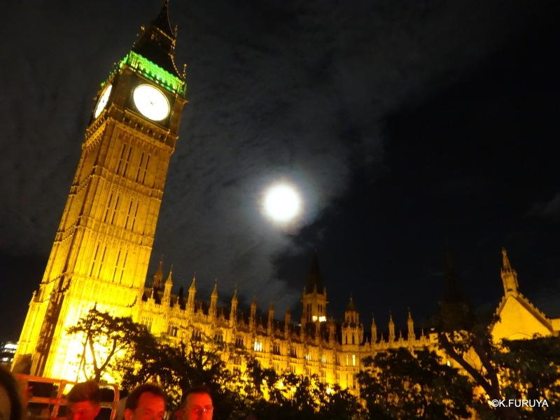 ロンドン 6  ナイトバスツアー_a0092659_19054223.jpg