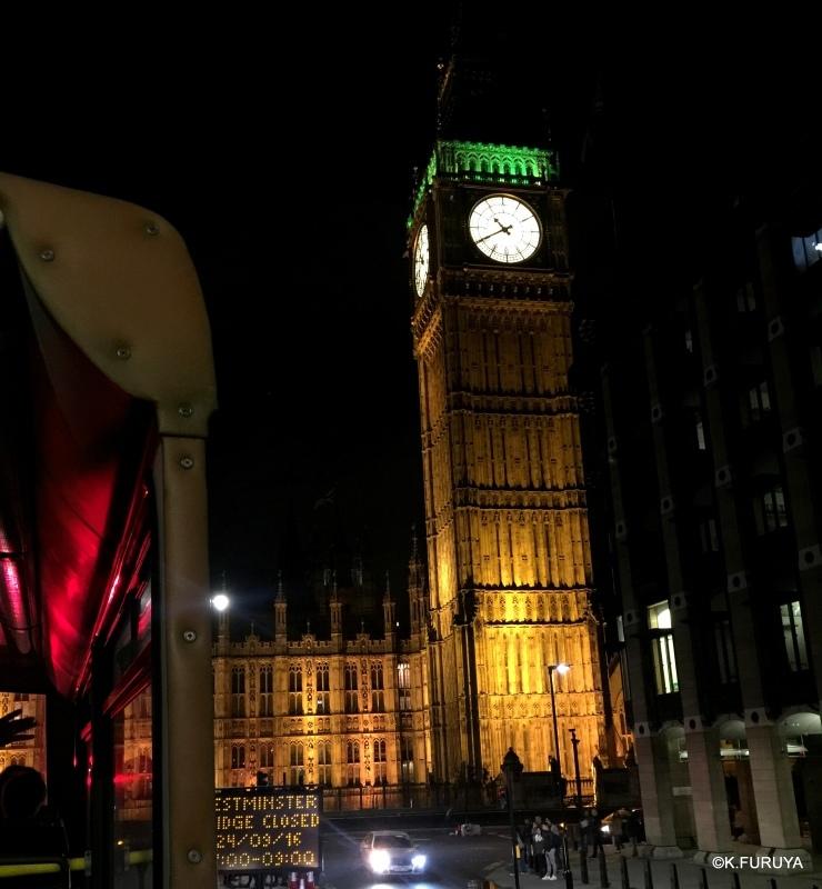 ロンドン 6  ナイトバスツアー_a0092659_19114745.jpg