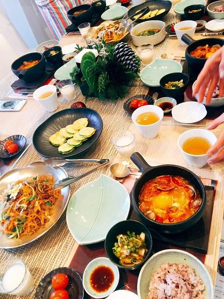 我が家の韓国料理教室 クリスマスクラス_b0060363_11381565.jpg