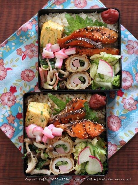 今年最後の月曜鮭弁 ✿ とうとう・・・(ノω・、`) _c0139375_10575692.jpg