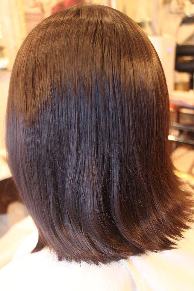 かかりにくい髪質へのパーマだよ。。_b0210688_12430785.jpg