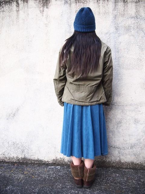 きえちゃん着用でUS NAVY N-4ジャケットスタイル_c0330558_21421028.jpg