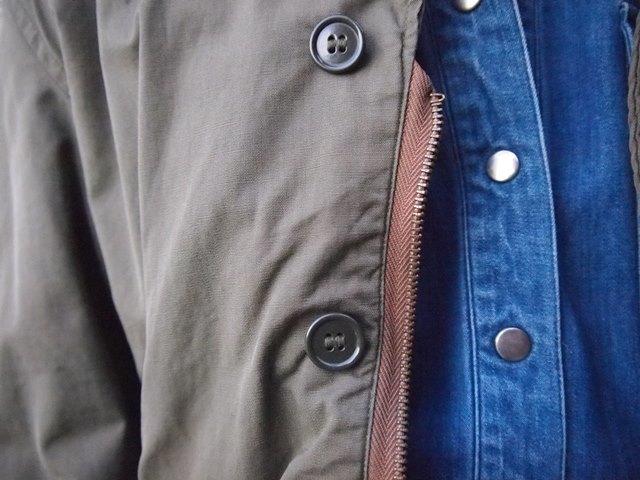 きえちゃん着用でUS NAVY N-4ジャケットスタイル_c0330558_21443024.jpg