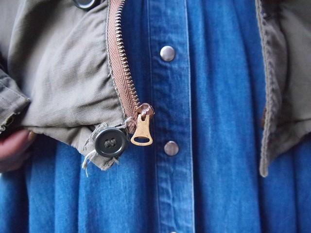 きえちゃん着用でUS NAVY N-4ジャケットスタイル_c0330558_21450180.jpg
