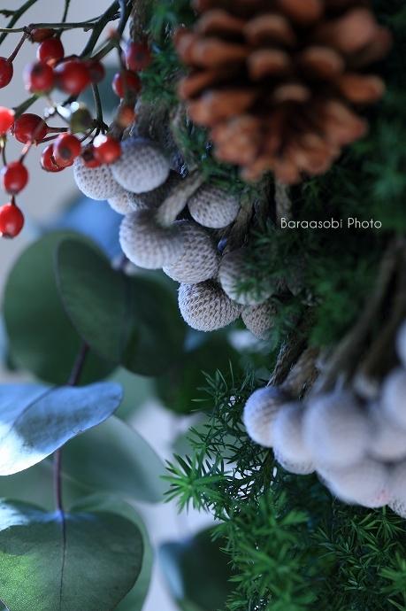 クリスマスの壁飾り_a0135366_10244263.jpg