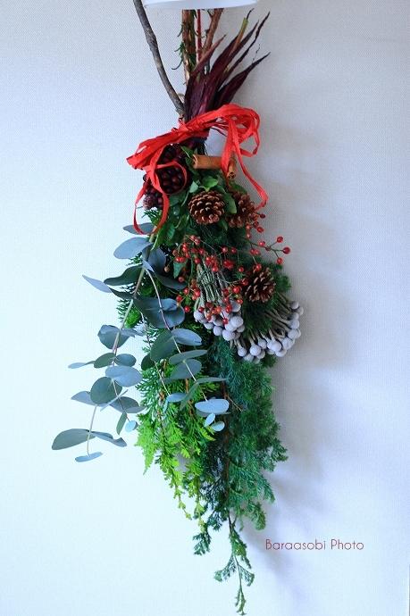 クリスマスの壁飾り_a0135366_9535612.jpg