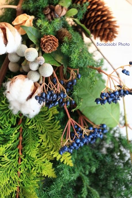 クリスマスの壁飾り_a0135366_9544140.jpg