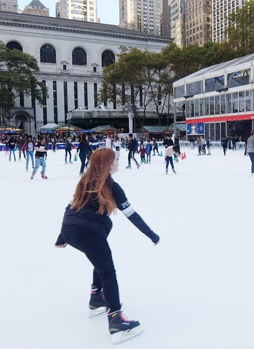 ブライアント・パークのスケートリンク2016 #WinterVillage_b0007805_0163943.jpg