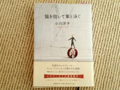 大きくなるな、自分に囚われるな 小川洋子「猫を抱いて象と泳ぐ」_e0016828_10274971.jpg