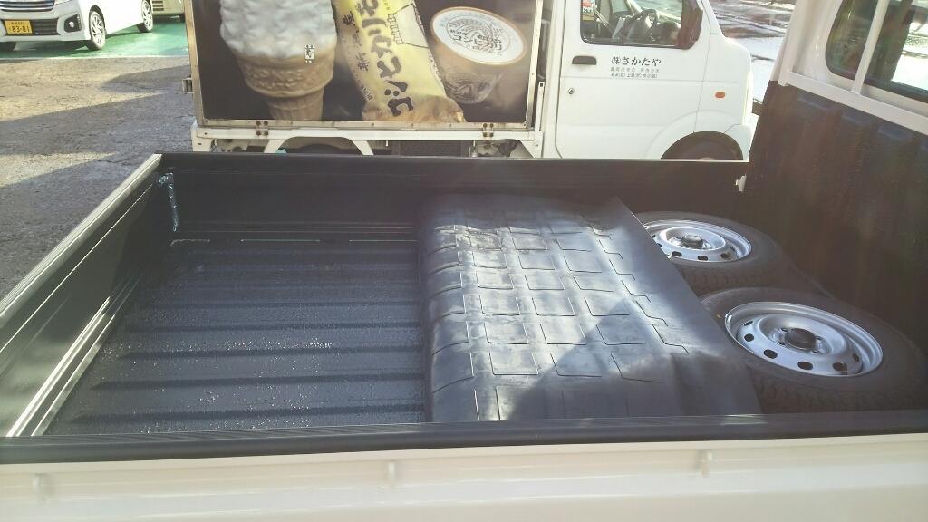 軽トラ荷台防錆塗装&下回り防錆塗装 漁業向け_b0237229_17510402.jpg