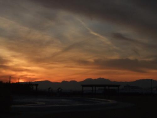 富士山の、朝、昼、夕暮れ_b0137932_14084113.jpg