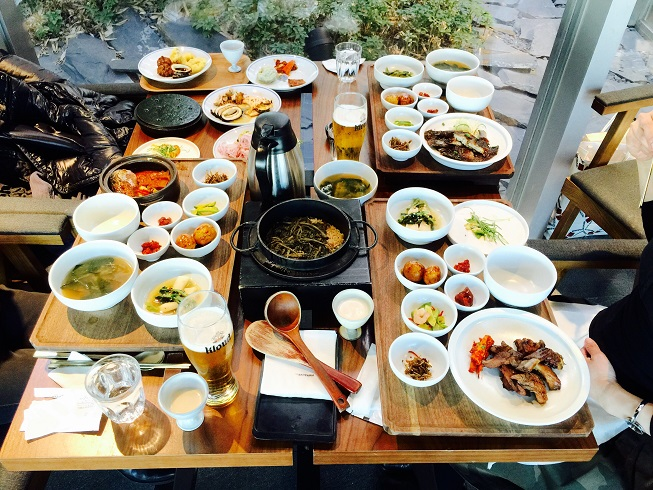 ソウルでランチ♪豪華なビュッフェスタイル「コッカン」_b0060363_2211239.jpg