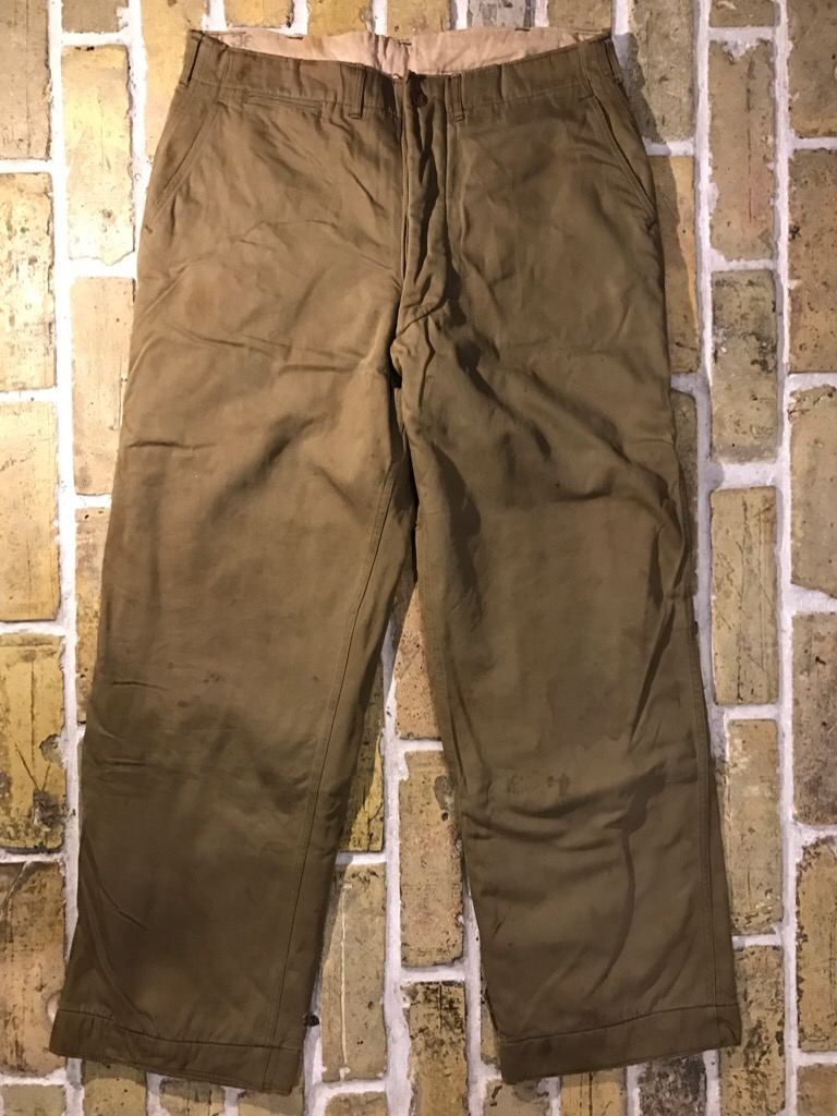 50\'s US.Army M-50Field JKT!40\'s Winter Khaki Pants!!!(T.W.神戸店)_c0078587_20263240.jpg
