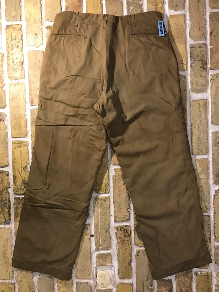 50\'s US.Army M-50Field JKT!40\'s Winter Khaki Pants!!!(T.W.神戸店)_c0078587_20264366.jpg