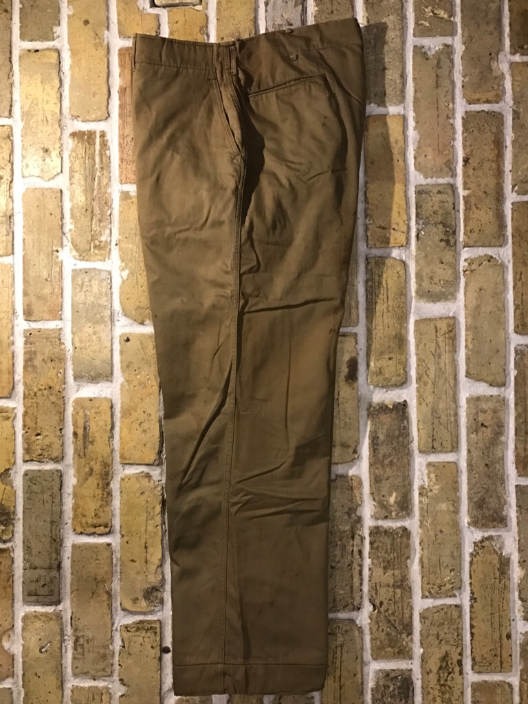 50\'s US.Army M-50Field JKT!40\'s Winter Khaki Pants!!!(T.W.神戸店)_c0078587_20265425.jpg