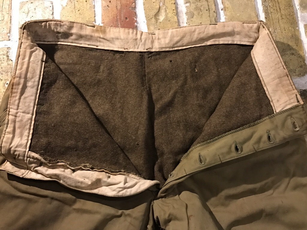 50\'s US.Army M-50Field JKT!40\'s Winter Khaki Pants!!!(T.W.神戸店)_c0078587_20273531.jpg