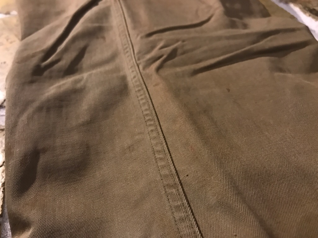 50\'s US.Army M-50Field JKT!40\'s Winter Khaki Pants!!!(T.W.神戸店)_c0078587_20281429.jpg
