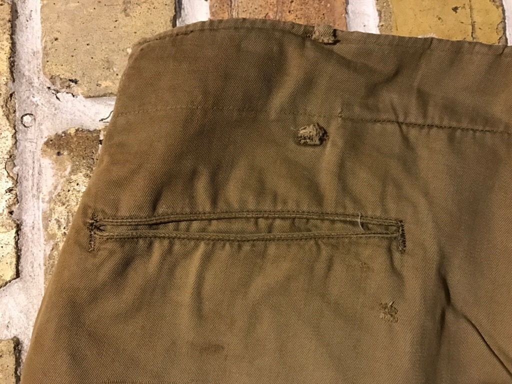 50\'s US.Army M-50Field JKT!40\'s Winter Khaki Pants!!!(T.W.神戸店)_c0078587_2028399.jpg
