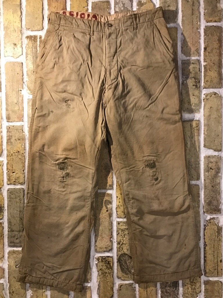 50\'s US.Army M-50Field JKT!40\'s Winter Khaki Pants!!!(T.W.神戸店)_c0078587_20284417.jpg