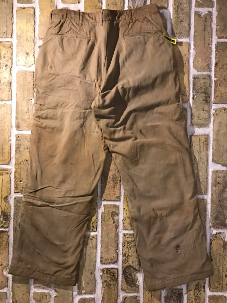 50\'s US.Army M-50Field JKT!40\'s Winter Khaki Pants!!!(T.W.神戸店)_c0078587_20285288.jpg