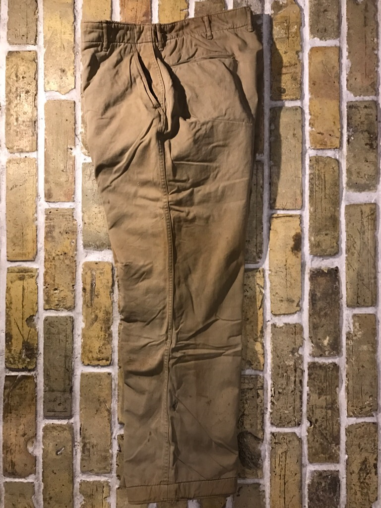 50\'s US.Army M-50Field JKT!40\'s Winter Khaki Pants!!!(T.W.神戸店)_c0078587_2029756.jpg
