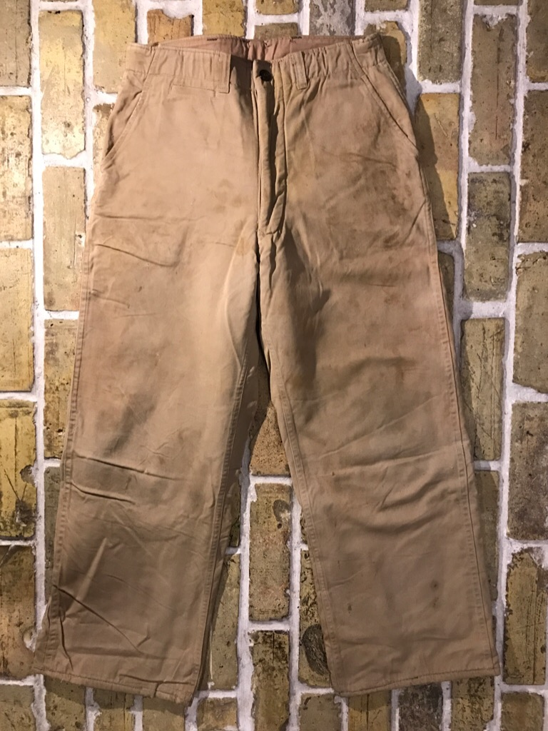 50\'s US.Army M-50Field JKT!40\'s Winter Khaki Pants!!!(T.W.神戸店)_c0078587_20304229.jpg