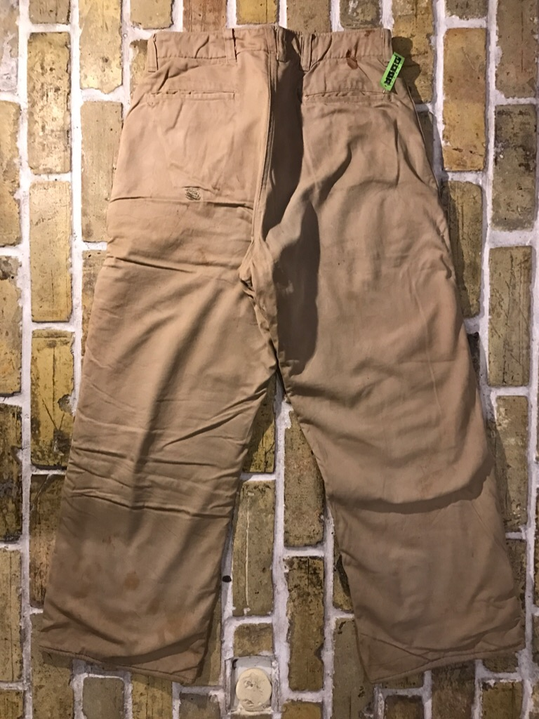50\'s US.Army M-50Field JKT!40\'s Winter Khaki Pants!!!(T.W.神戸店)_c0078587_20305182.jpg