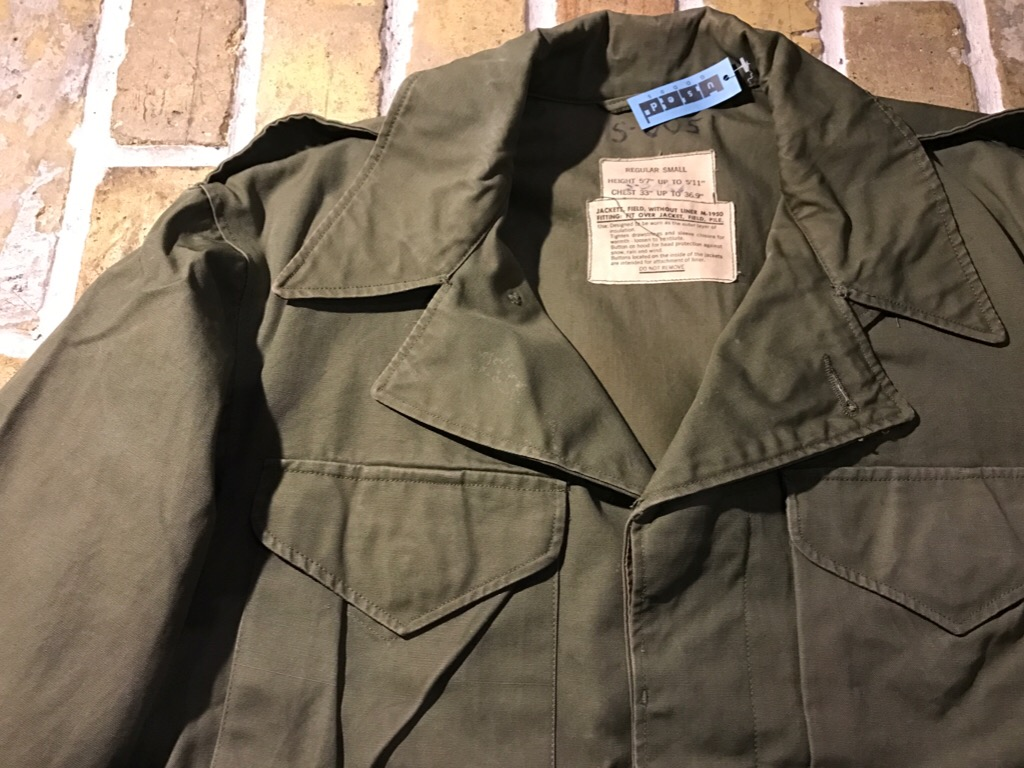 50\'s US.Army M-50Field JKT!40\'s Winter Khaki Pants!!!(T.W.神戸店)_c0078587_21102397.jpg