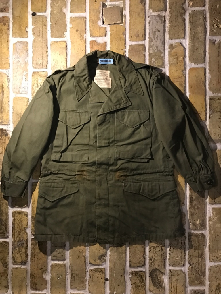 50\'s US.Army M-50Field JKT!40\'s Winter Khaki Pants!!!(T.W.神戸店)_c0078587_2182212.jpg