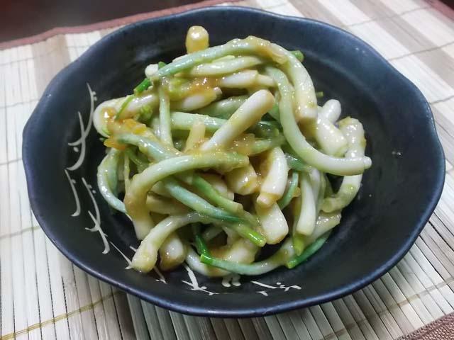 ハタハタの寒麹漬け&ひろっこの柚子酢味噌和え_f0019498_154159.jpg