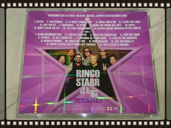 RINGO STARR and His all Starr band / 2016 OSAKA_b0042308_06032373.jpg