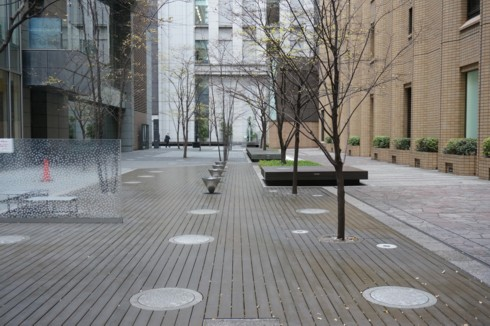 高層ビル街の坪庭_f0055131_8463274.jpg