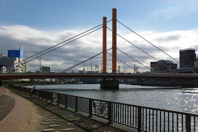 東京散歩(1)隅田川・新大橋界隈_d0043136_18284454.jpg