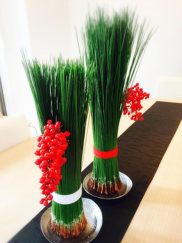 素敵な正月飾りでハッピーに♪_b0060363_1230529.jpg
