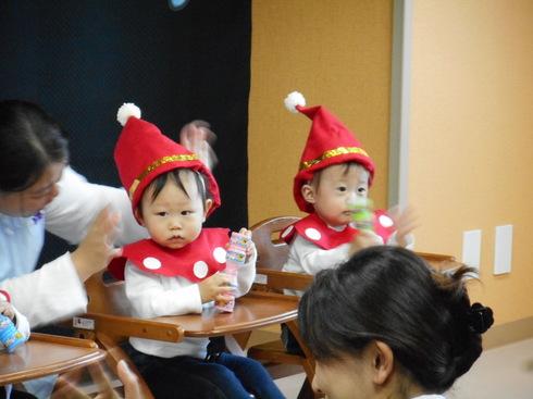 【千葉新田町園】クリスマス会_a0267292_11545251.jpg