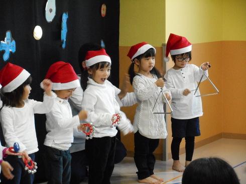 【千葉新田町園】クリスマス会_a0267292_122105.jpg