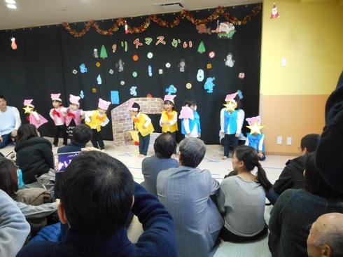 【千葉新田町園】クリスマス会_a0267292_1223496.jpg