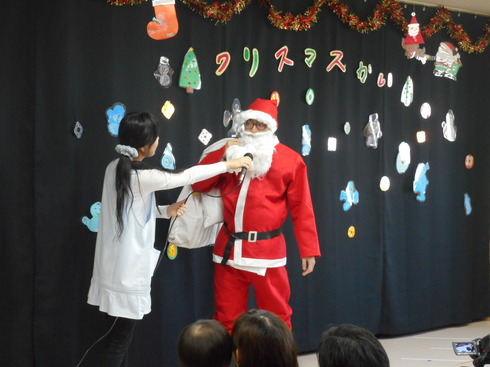 【千葉新田町園】クリスマス会_a0267292_1232857.jpg