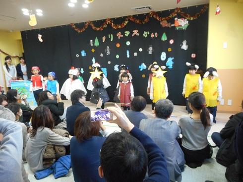 【千葉新田町園】クリスマス会_a0267292_123873.jpg